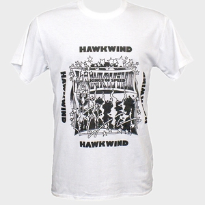 Hawkwind Prog Psychedelic Rock Metal T-Shirt Hawklords Blue Oyster Cult S-3Xl(China)