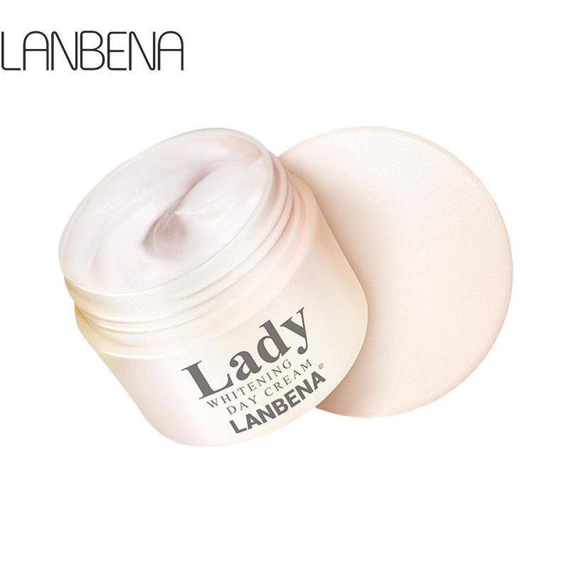 LANBENA Lady Face Cream Whitening Cream Moisturizer Nourishing Firming Skin Women Facial Day Cream Shrink Pore