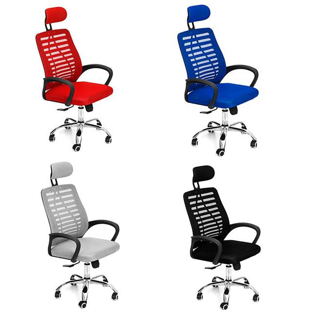 Office Chair Swivel Gaming Chair Adjustable Height Rotating Lift Chair Ergonomic Desk Computer Chair Armchair Recliner Home 5