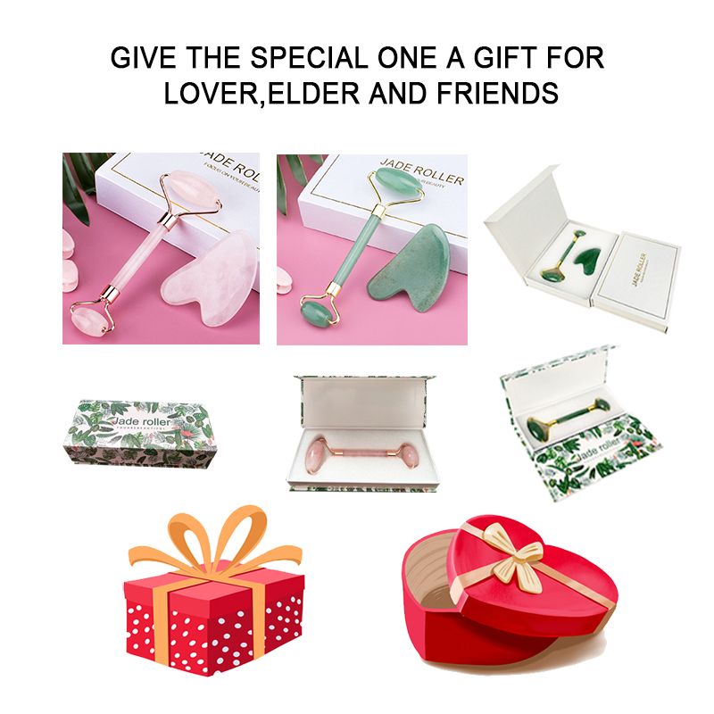 Face Roller Jade Massager-Lovely present