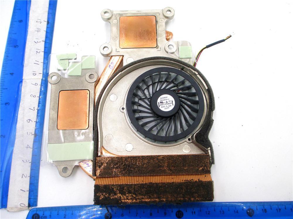 Радиатор и вентилятор для Lenovo Ideapad Y570 Y570A Y570N Y570G AT0HB001SS0 UDQF2JP04DCM AT0HB002PV0