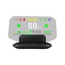 רכב ראש עד תצוגת רכב HUD תצוגת חכם דיגיטלי מטר בחדות גבוהה דיגיטלי מקרן עבור טסלה דגם 3 & דגם Y