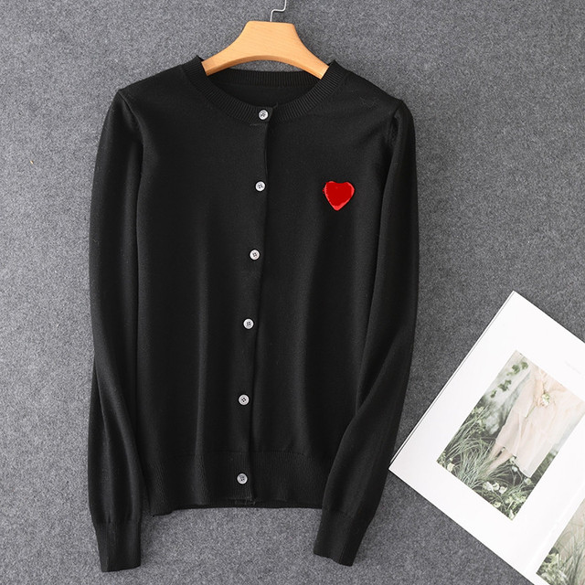 (have eyes)Spring Autumn Lover Couple  Cashmere sweater Love pattern Brand New Women Men Knitted Cardigan SweaterFashion Top 6