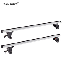 sanjods car roof rack replacement for 12 15 q5 pair oe style aluminum roof rail rack cross bar baggage carrier SANJODS Pair OE Style Aluminum Bolt-On Top Rail Roof Rack Cross Bar Luggage Carrier Replacement For Car Roof Rack