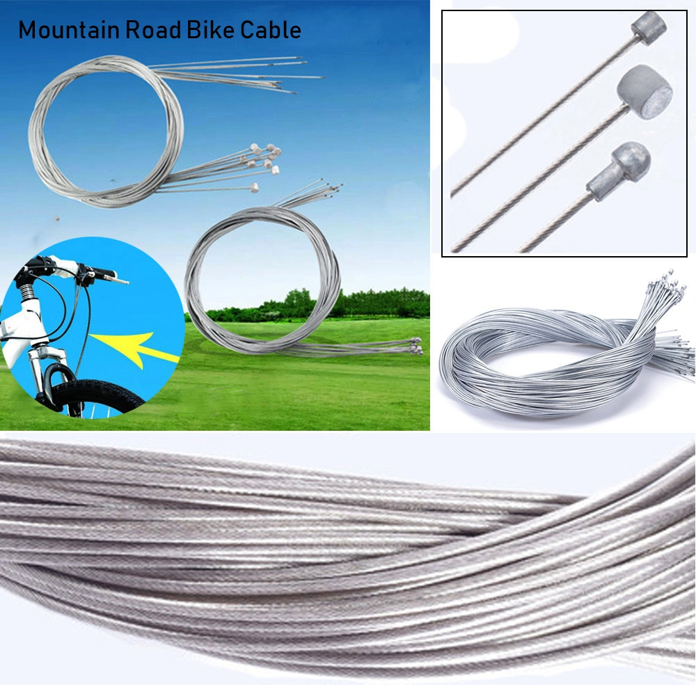 Premium Bike Brake Inner Cable Mountain Bicycle Brakes Line 1.1m 1.7m Wire