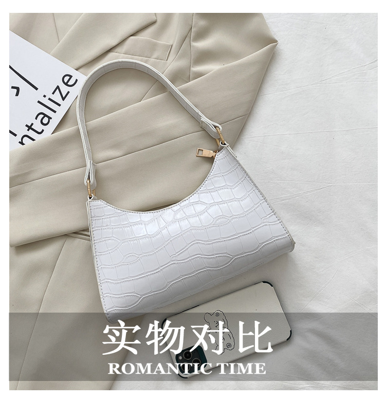 Fashion Exquisite Shopping Bag Retro Casual Women Totes Shoulder Bags Female Leather Solid Color Chain Handbag for Women 2020