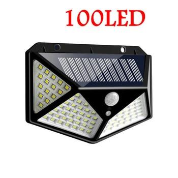 Led lawn Garden Solar Lamp Outdoor 100 LEDs Solar light Motion street Wall+lamps yard garage indoor home spot- lights Chandelier 3