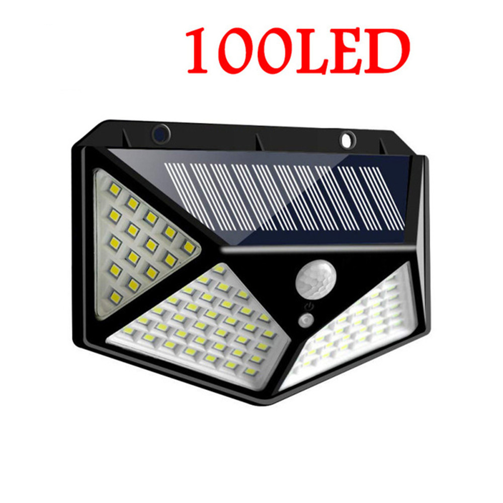 cheapest Led lawn Garden Solar Lamp Outdoor 100 LEDs Solar light Motion street Wall lamps yard garage indoor home spot- lights Chandelier