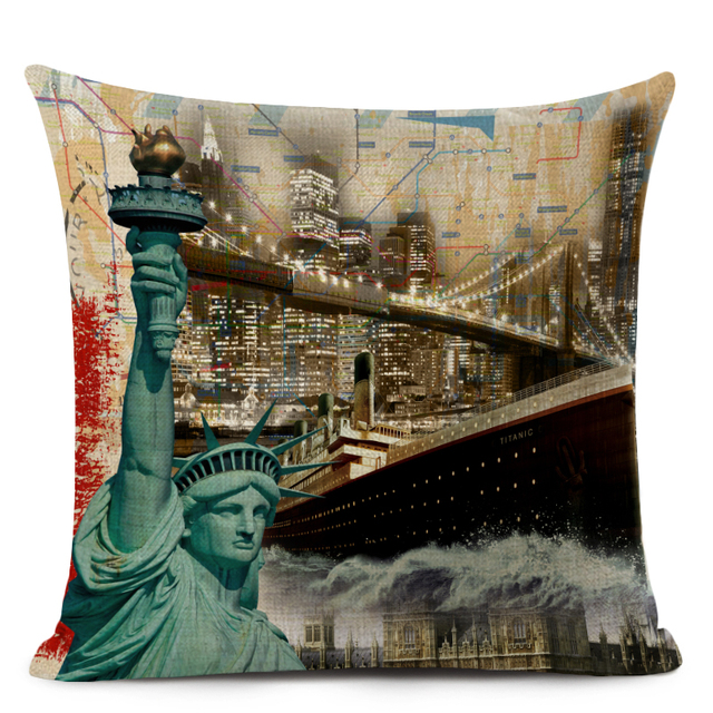 England Stylish Pillow Covers  2