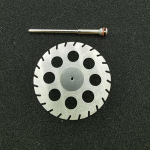Image 5 - Dental Lab Polishing diamond Double sided cutting disc for Dental Cutting Plaster Disc Wheel Dental Lab Tool 40&45*0.30mm