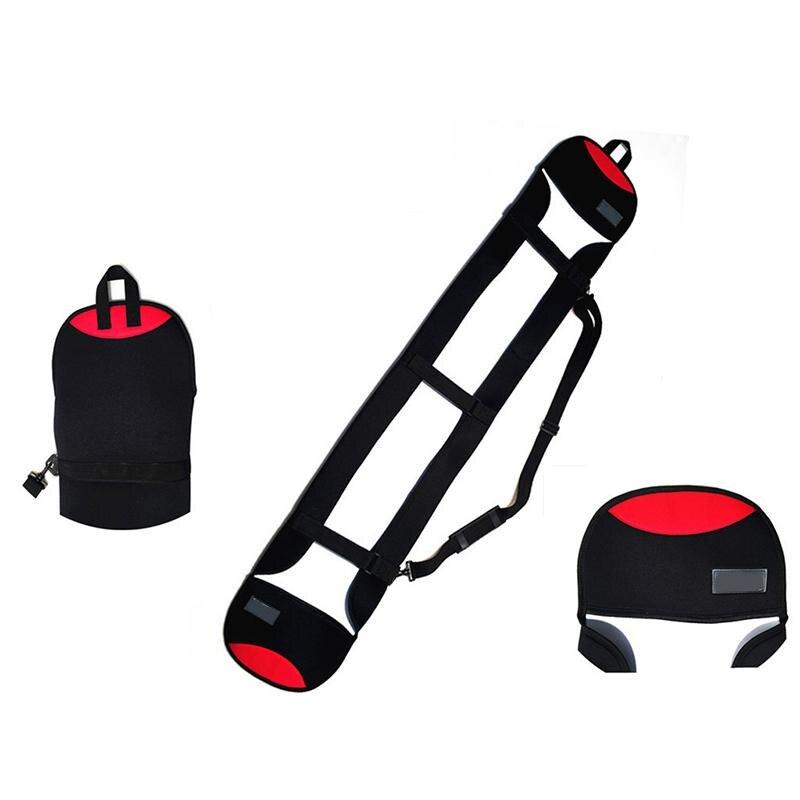 GloryStar 140/160cm Ski Bag Snowboard Bag Scratch-Resistant Snowboard Carrying Bag Monoboard Plate Protective Case