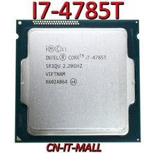 سحبت I7 4785T وحدة المعالجة المركزية 2.2G 8M 4 كور 8 الموضوع LGA1150 المعالج