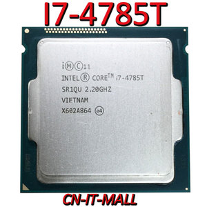 Image 1 - Pulled I7 4785T CPU 2.2G 8M 4 Core 8 Thread LGA1150 Processor