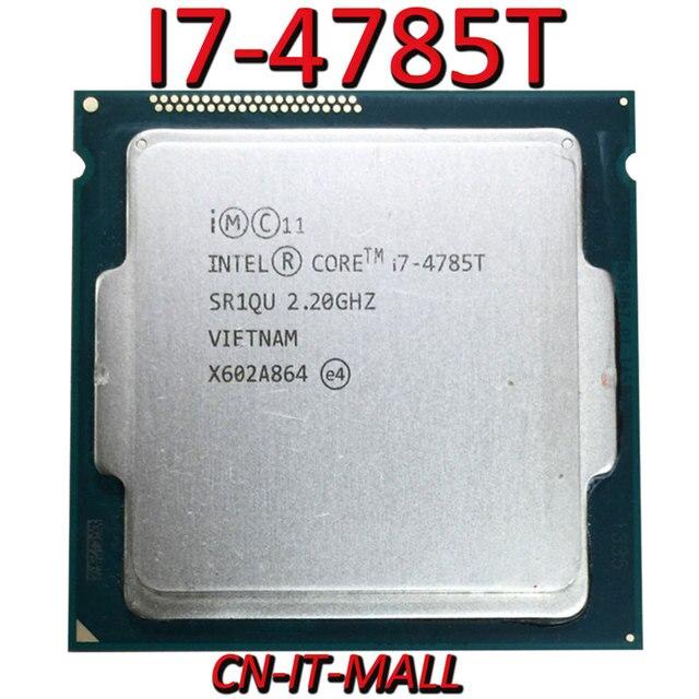 Pulled I7 4785T CPU 2.2G 8M 4 Core 8 Thread LGA1150 Processor