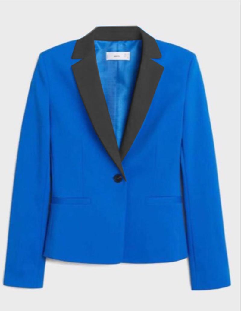 Royal blue Mens Blazer Peak Notch Lapel Tuxedo Tailcoat Best Man Suit Jscket For Wedding Party Groom Host 1 Piece