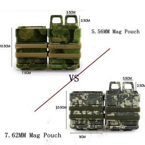 Military Airsoft 5.56mm 7.62mm Fast Mag Holder Molle Tactical FastMag Pouch Hunting Accessories AK M4 Pistol Magazine Pouch(China)