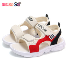 Summer New Kids Sandals Boys Girls Sport Casual Light Shoes Children Baby Flat Beach Leather Fashion