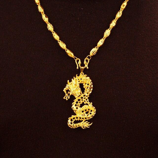 Купить подвеска из твердого золота 24 к с 3d драконом для женщин и картинки