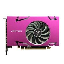 Yeston Grafikkarte R7 350 4G D5 6 COMPUTER-TV-ANSCHLUSSKABEL MINIDP 6-bildschirm Unterstützung Split Screen Display 700/4500MHz 4G/128bit/GDDR5 mit 6 Mini DP Ports