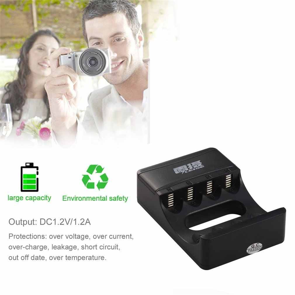 LEISE 4 ช่องสมาร์ท USB ชาร์จกับไฟ led ชาร์จ AA และ AAA Ni-Mh แบตเตอรี่