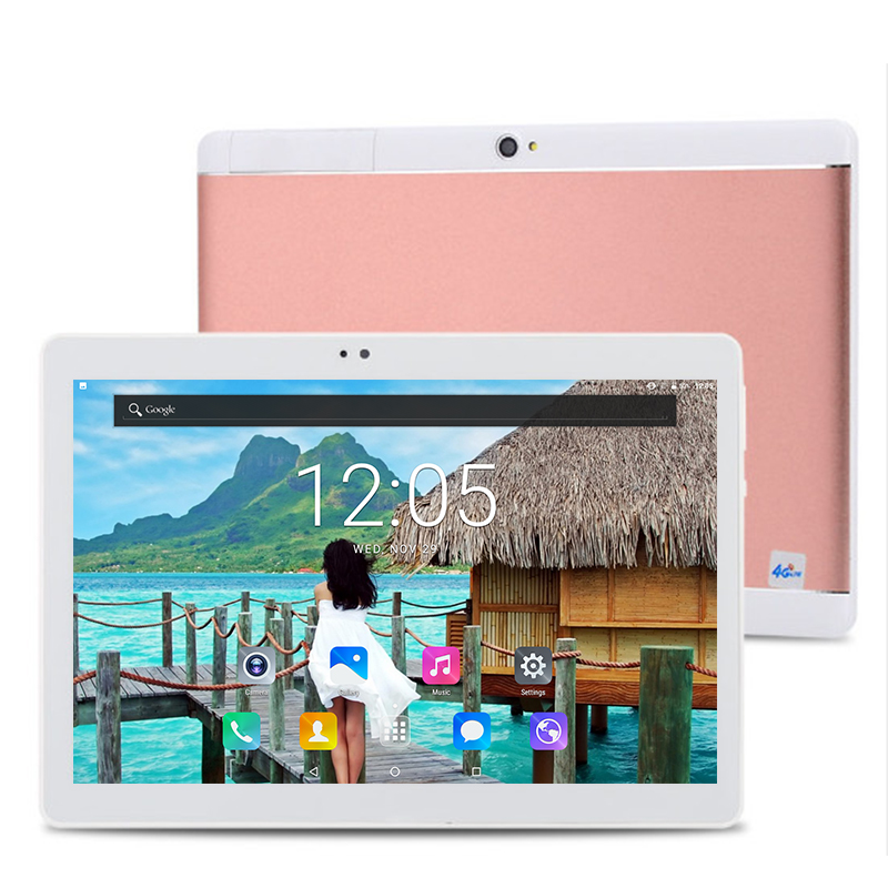 2020 New 10 Inch Tablet Pc Android 8.0 Octa Core RAM 6GB ROM 128GB Wifi Bluetooth 1280*800 IPS Screen Kid Gifts Tablets