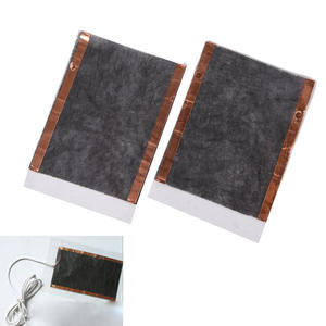2pcs Portable DIY USB Heating Heater Winter Warmer Plate for Shoes Gloves Mouse Pad