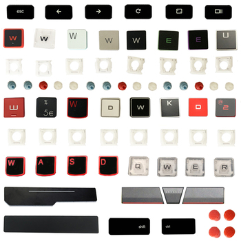 Laptop New For ASUS ACER HP DELL IBM lenovo Xiaomi HUAWEI Samsung MSi LG Haier Apple HASEE SONY cap Keycap And hinge Replacement image