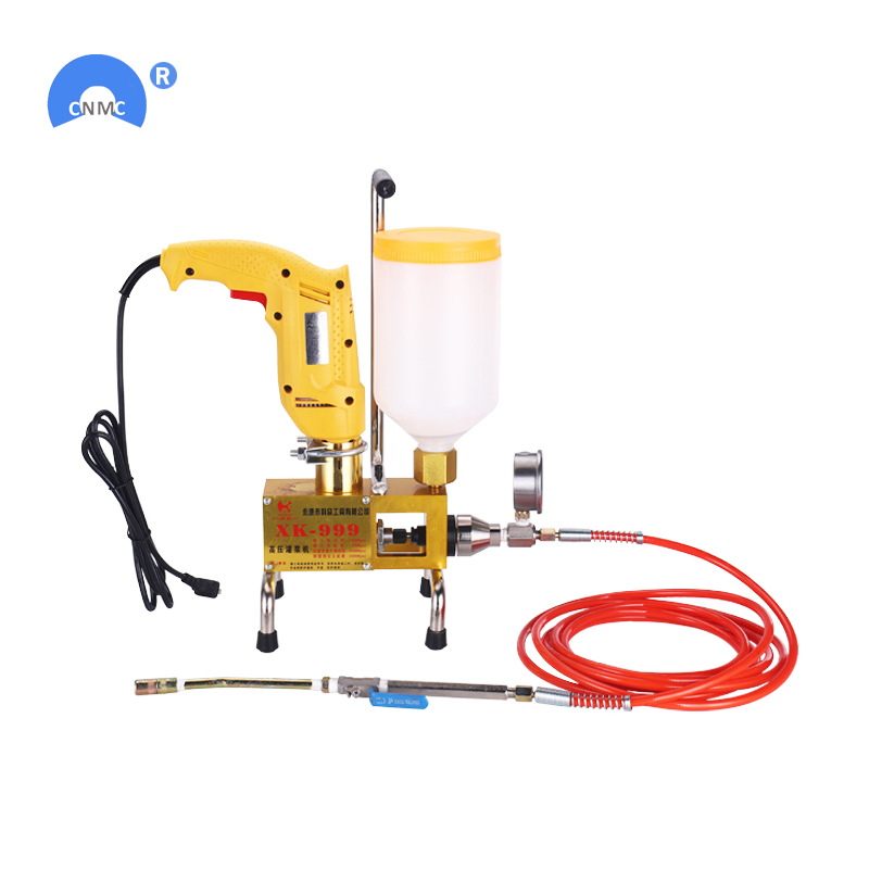 Free Shipping 220V Polyurethane Foam Injection Grouting Machine Cement Grouting Pump Machine