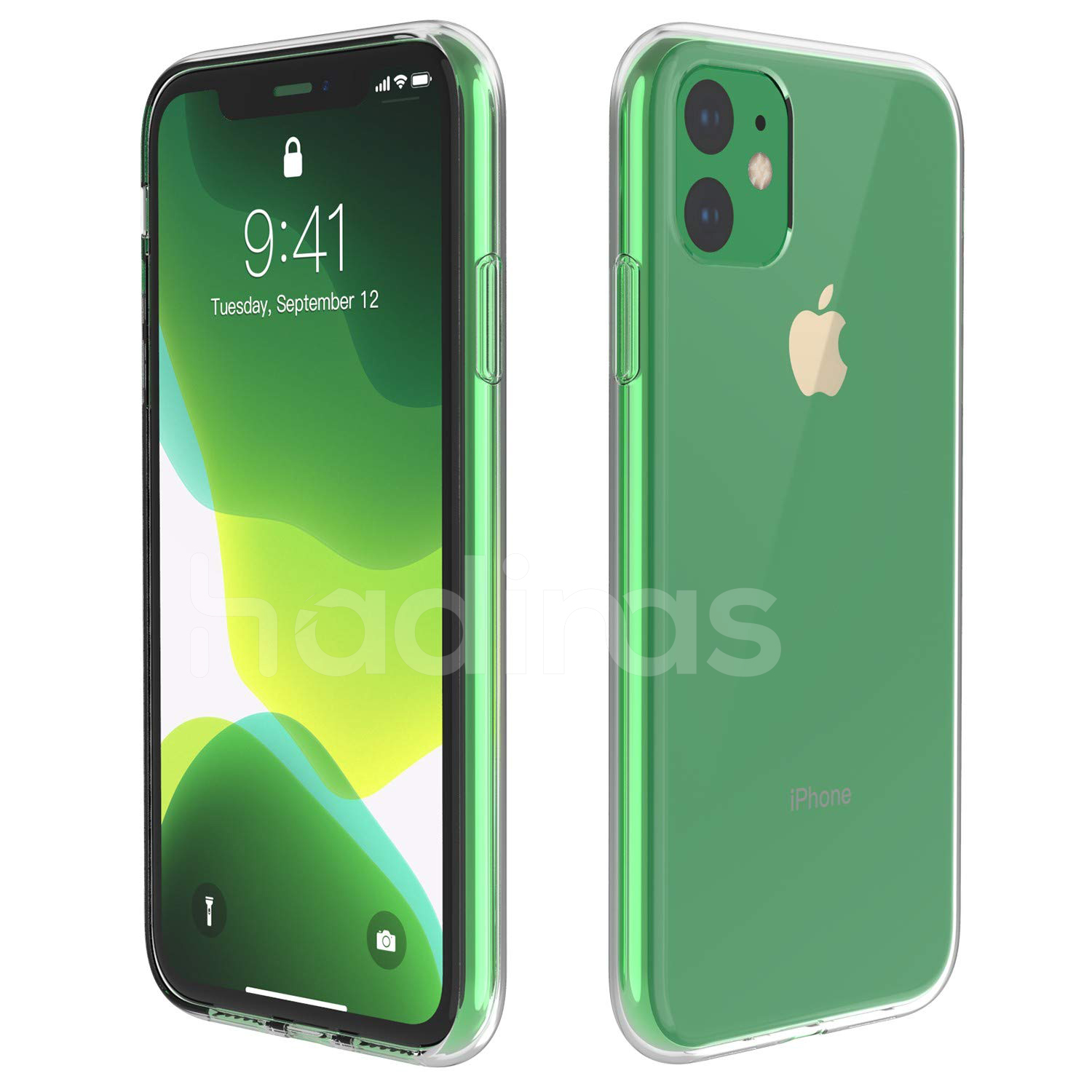 Hadinas Silicone Case for iPhone 11/11 Pro/11 Pro Max 15
