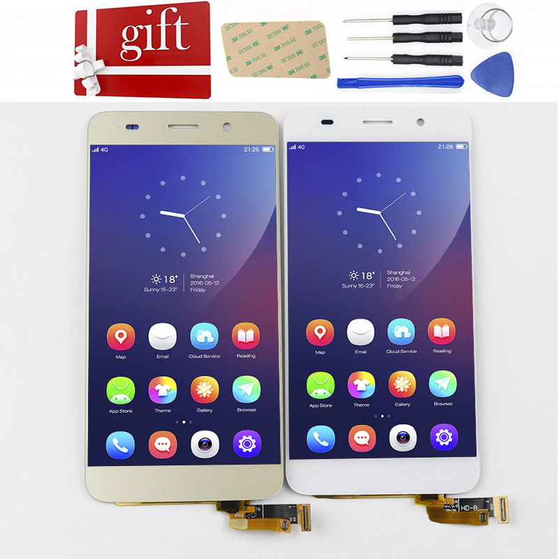 Für Huawei Honor 4A Y6 LCD Bildschirm SCL-L01 SCL-L04 SCL-L21 LCD Display Panel Touch Screen Digitizer Glas Montage Mit Rahmen