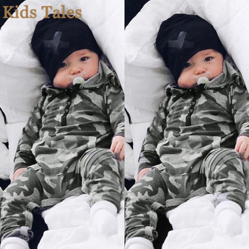 Fashion Baby Boys Infant Zipper Romper Jumpsuit Playsuit Clothes Outfit 0-18M