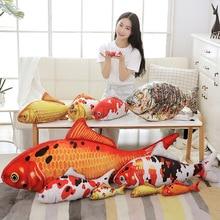 Pillow Plush-Toy Stuffed Animal Aquatic-Fishes Large-Size Lifelike Carpio Pets Dogs Fish-Koi-Carp