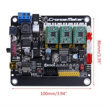 CNC 3018/2418/1610 GRBL 1.1 3 Axis Stepper Motor Double Y USB Driver Board Controller Laser for Router 3Axis