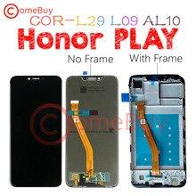 ЖК дисплей 6,3 дюйма для Honor Play, дигитайзер сенсорного экрана в сборе с рамкой для Huawei Honor Play, сменный ЖК экран для Huawei Honor Play, сменный экран с ЖК экраном