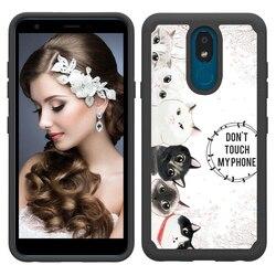 На Алиэкспресс купить чехол для смартфона for lg k40 g8 thinq stylo 4 ultra thin soft tpu+hard pc case for lg aristo 2 plus k30 2019 stylo 5 painted cloth phone case