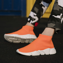Fashion Sneakers Comfort Shoes Casual-Shoes Breathable Mesh Men's Trend Movement Tzapatos-De-Hombre
