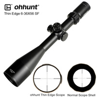 ohhunt Thin Edge 6 36X56 SF Hunting Riflescopes Side Parallax Mil Dot Glass Etched Reticle Turrets Lock Reset Shooting Scope