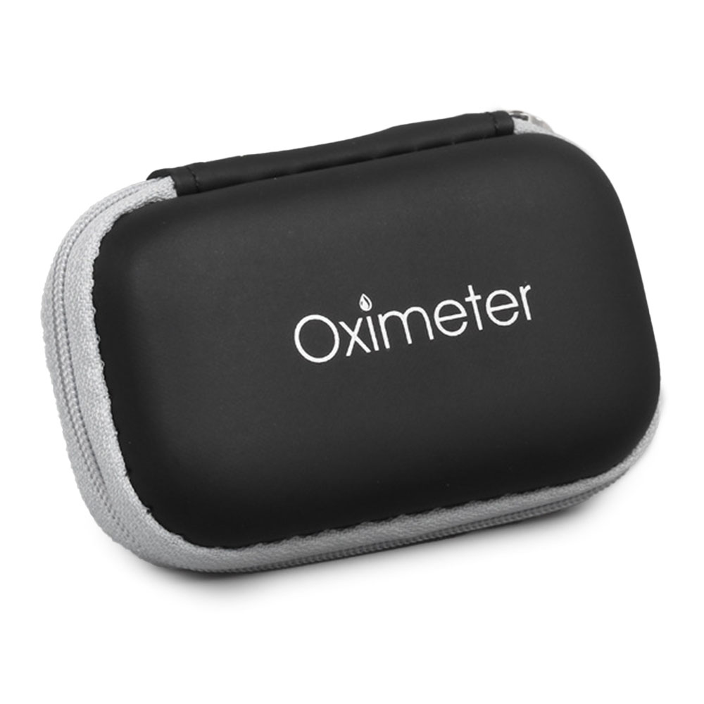 HOT EVA Hand Portable Neutral Oximeter Zipper Bag Storage Bag Oximeter Storage Box Oximeter Cover Kit Bag Protection Bag