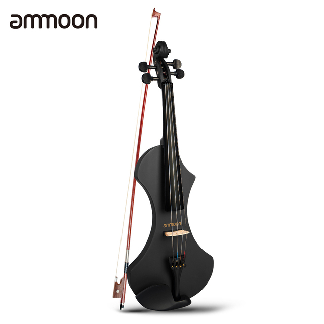 Electric Violin with Brazilwood Bow, Headphones, Carry Bag & 6.35mm Audio Cable 1