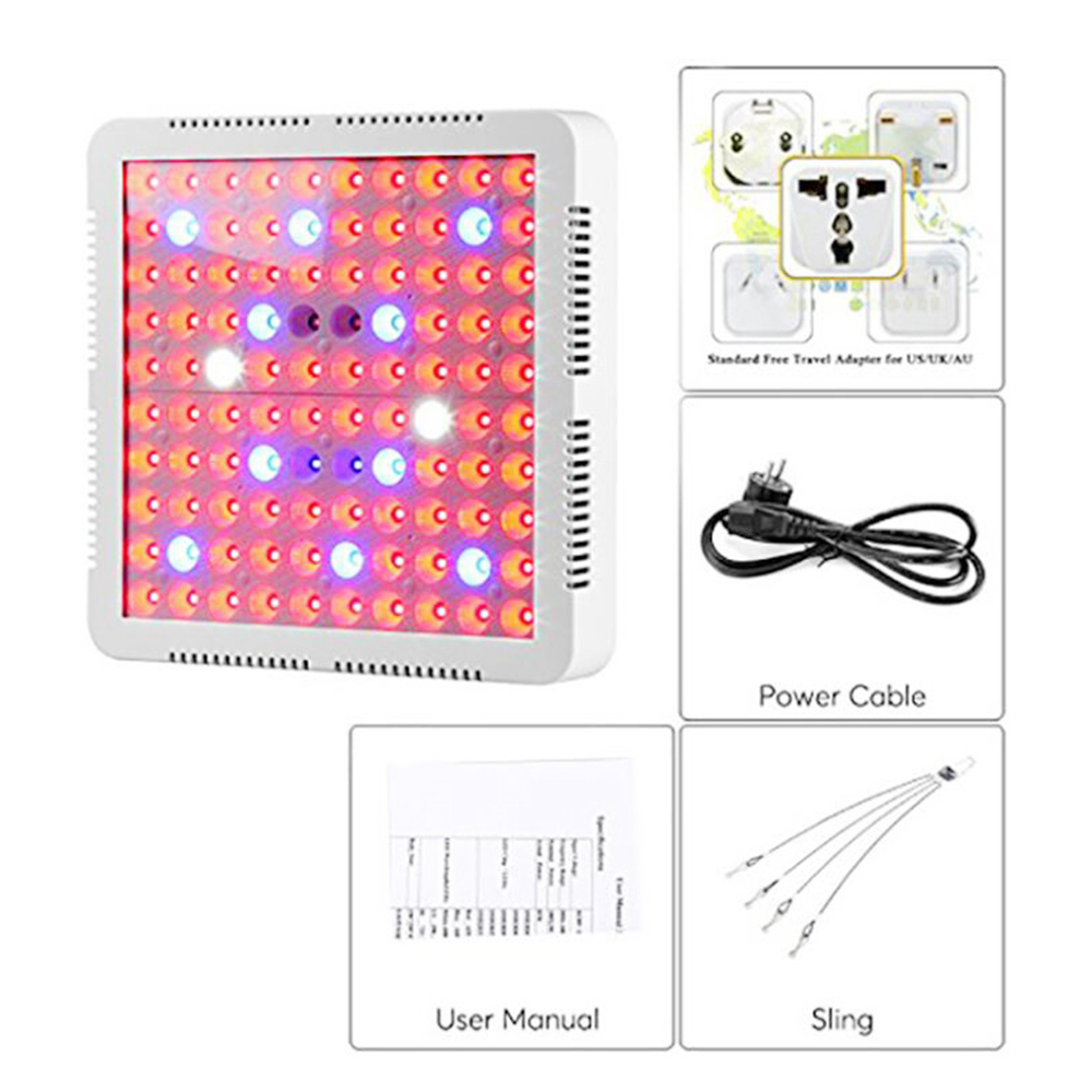 LED Grow Light Full Spectrum 300W 25W For Indoor Plant Flower Veg Seedling Phyto Lamp