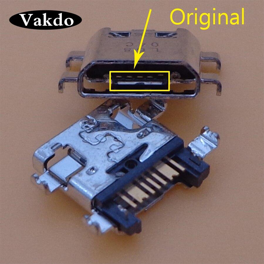 20PCS Micro Usb Connector Charging Port Socket For Samsung J510FN J510G J510M J510Y J710F J710FN J710H S7272 S7275 S7580 S7582