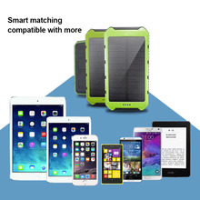 Solar Energy Mobile Power Bank Nesting Portable Wear-resistant Mobile Power Box SP99 цена 2017