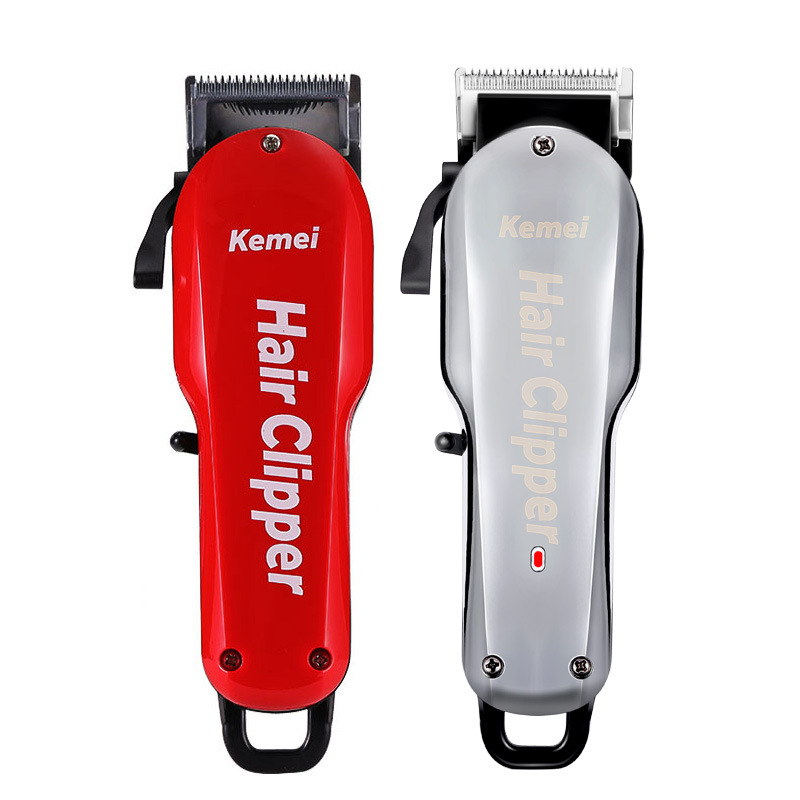 Kemei 7 Hours Large Capacity Battery Professional Wahl Hair Clipper Barber Shop Salon Coiffure Electric Cutter Shaving Machine