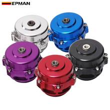 50MM bov 50 TURBO UNIVERSAL tocho de aluminio de válvula de soplado primavera + brida EPBOV8801