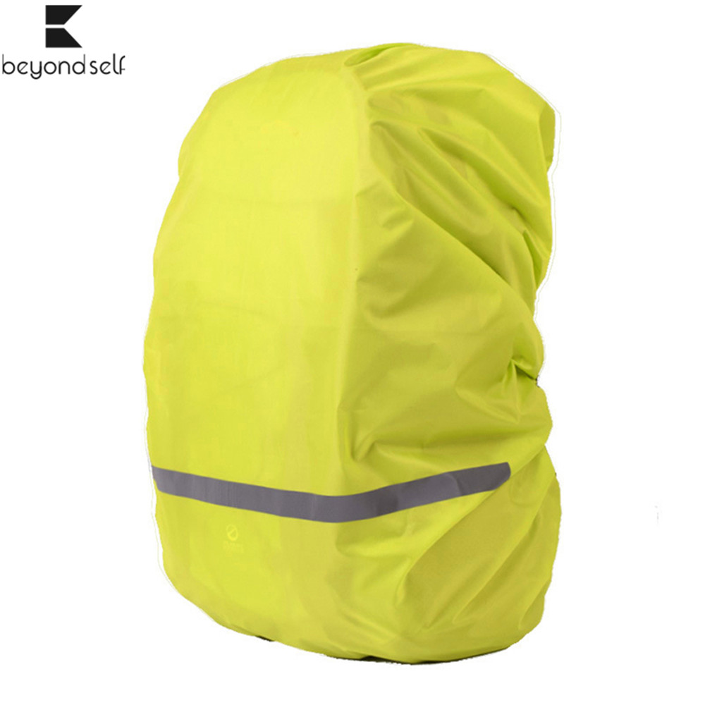 40L 50L 60L 70L Reflective Rain Cover Backpack Waterproof Backpack Cover Bag Outdoor Camping Hiking Travel Raincover For Night