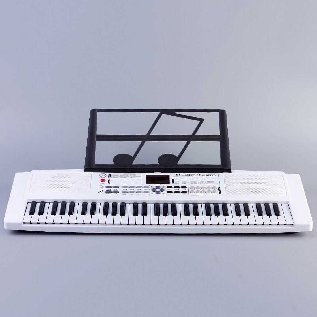 teclado eletronico com microfone para criancas 61 04