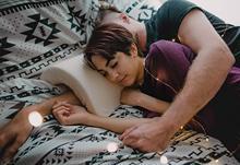 Coppia Sacco A Pelo Cuscino Braccio Gamba di Gomma Piuma di Memoria di Rimbalzo Lento Multifunzione Cuscino Del Collo A Forma di U Cuscini Da Letto per Amore di Viaggio Del Corpo