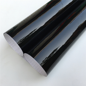 Ультра-глянцевая виниловая пленка для фортепиано черного цвета, глянцевая черная самоклеющаяся виниловая пленка без пузырьков, консоль дл...