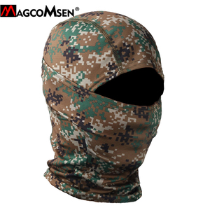 Image 3 - MAGCOMSEN Tactical Camouflage Balaclava Full Face Cover Quick Dry Hunt Shoot Army Bike Helmet Military Equipment  Airsoft Gears