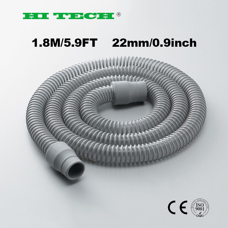 180cm CPAP Tube Shrink Tubing Flexible Hose Pipe Connect With CPAP Breathing Mask CPAP Apparatus For Sleep Apnea Snoring